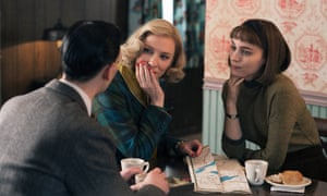 'Symphony of emotions': Cate Blanchett and Rooney Mara in Carol.