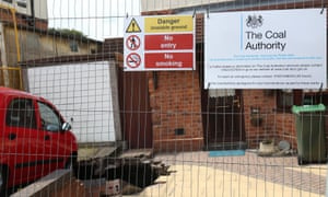 The sinkhole that has opened up beneath a driveway of a home in Wednesbury, in the West Midlands