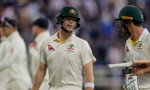 Steve Smith is still banned from holding a leadership position in any Australia team, but has led by example at Edgbaston.