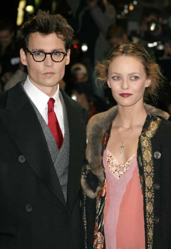 With Vanessa Paradis in 2004.