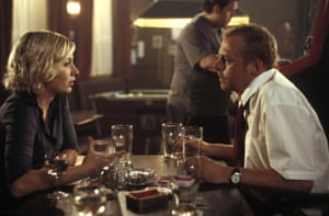 'We spent ages in the pub' … Kate Ashfield and Simon Pegg.