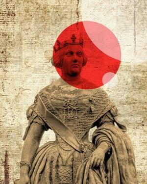 Statue of Queen Elizabeth II