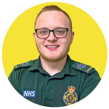 Paramedic Sam Harris