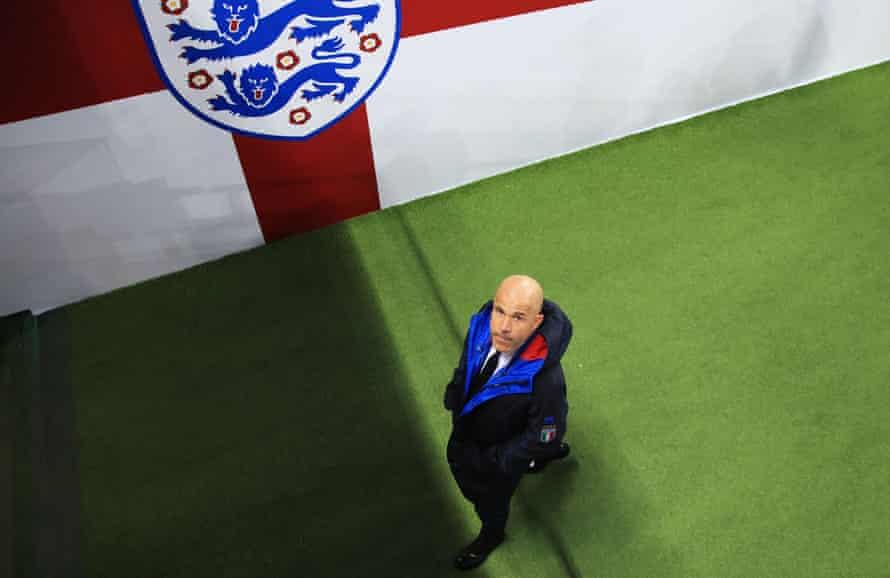 Luigi Di Biagio will lead Italy against at Wembley.