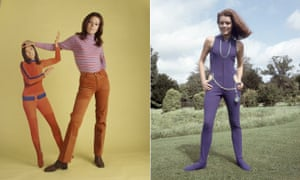 Publicity shots for The Avengers featuring Diana Rigg as Emma Peel