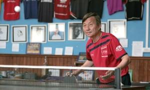 Wen Wei Xu, one of the club's founders.
