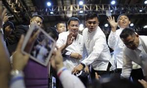Rodrigo Duterte in Singapore