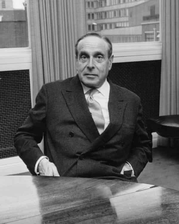 Banker Siegmund Warburg, 1968.
