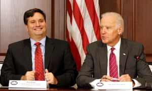 Joe Biden with Ron Klain in 2014.