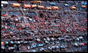 Koolhaas and Adeyemi rented a helicopter to discern patterns in the apparent Lagos chaos.