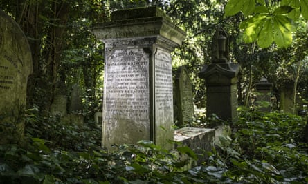 The grave of Rev Aaron Buzacott, secretary of the British and Foreign Anti-Slavery Society.