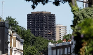 The damage done to Grenfell tower by the deadly blaze
