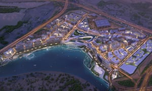 The 40 degree hothouse … the planned 180-hectare district aims to be 'a vibrant ecosystem'.