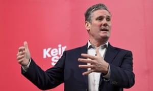 Keir Starmer is 'behaving like a man walking across a sheet of ice carrying a crystal vase'