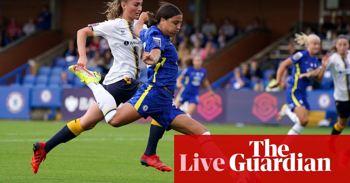 Chelsea v Everton: Women's Super League – live!