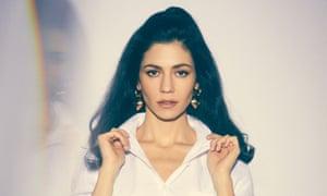 'Actually, my name's Marina' ... Diamandis in 2019.