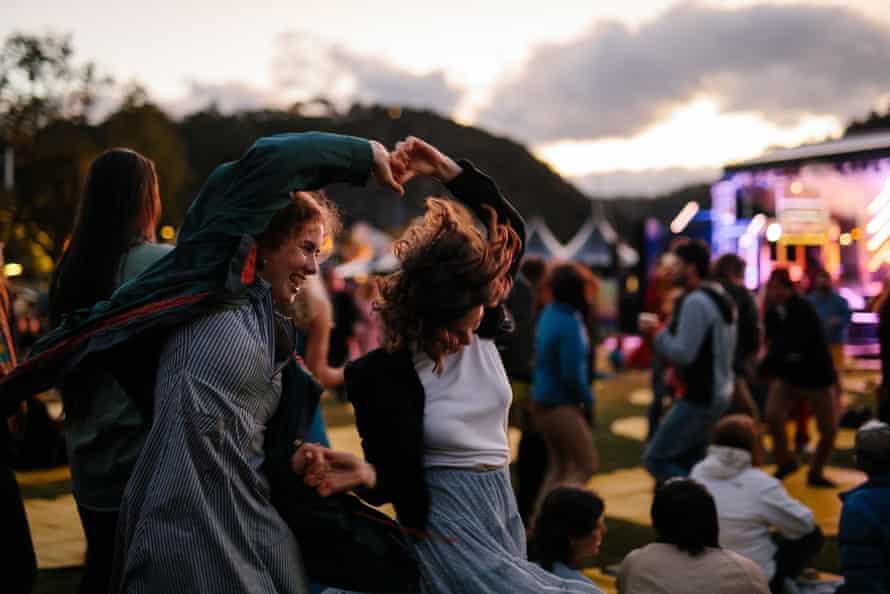 Mofo Sessions at Royal Park, Mona Foma 2021.