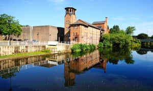 Derby's old silk mill, which is being relaunched as the Museum of Making.