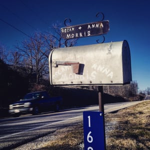 Oscar and Anna Morris's letterbox in Goshen