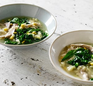 Matt Moran's risoni chicken soup