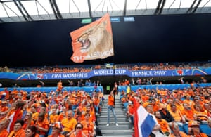 The Dutch are out in force.