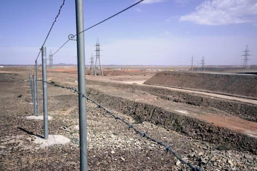 Oyu Tolgoi mine, southern Gobi