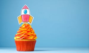 Up and away … Free Cakes for Kids tries to make sure no child goes without on their birthday.