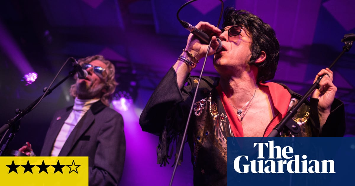Alabama 3 review – raucous ravers soak up mashup outlaws sin and soul