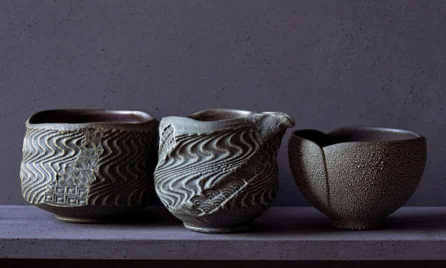 Ceramics by Kasama potters Tatshushi Nemoto and Shungo Nemoto