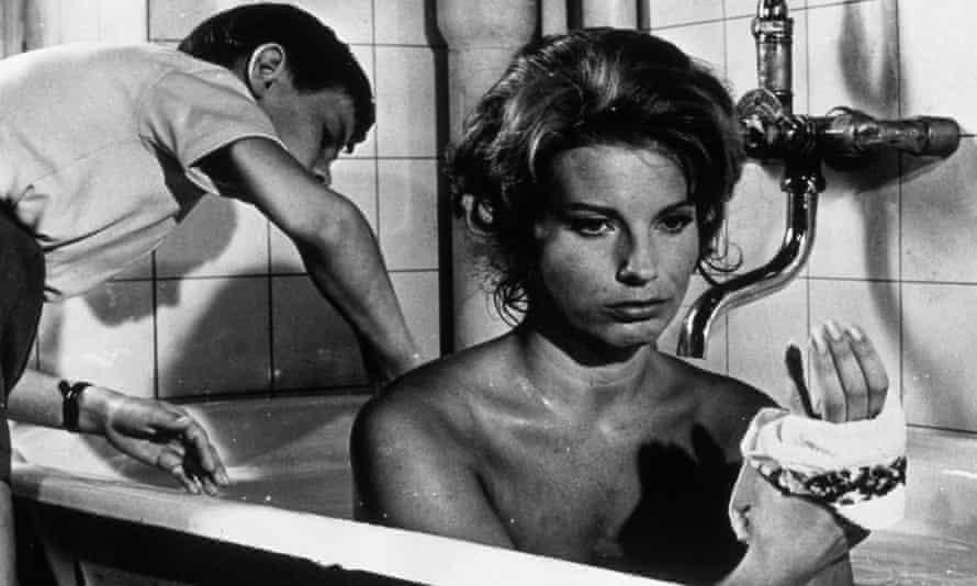 گانل لیندبلوم در فیلم سکوت ، 1963 ، به کارگردانی اینگمار برگمن.
