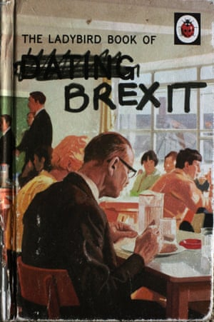 Christie's Ladybird Book of Brexit, featured in her show.