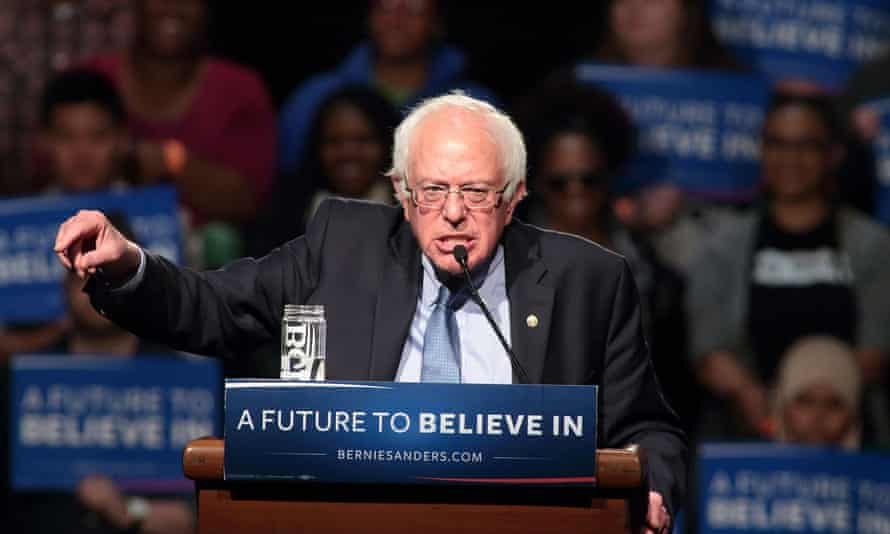 Bernie Sanders decried low voter turnout in US elections during a Sunday interview, saying: 'If we got a voter turnout of 75%, this country would be radically transformed.'