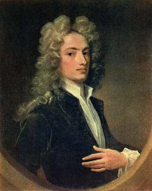 A painting of Alexander Pope by Irish portrait artist Charles Jervas.
