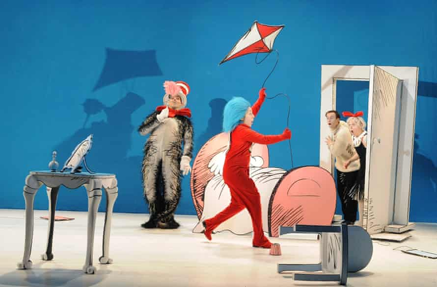 A scene from The Cat in the Hat.