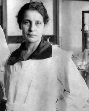 The Austrian-Swedish physicist Lise Meitner