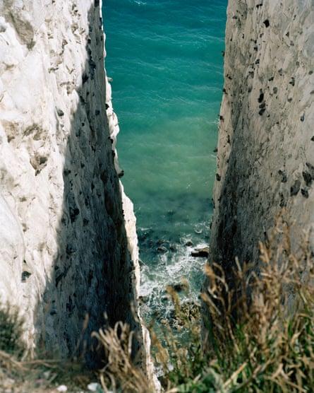 A Brexit diary ... Tereza Červeňová's image of the White Cliffs of Dover.