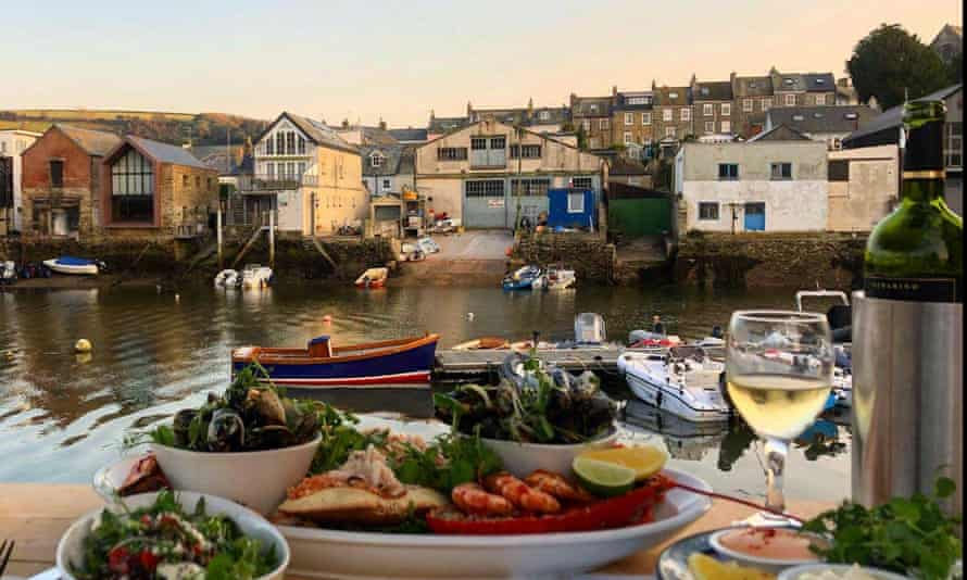 Crab shed salcombe