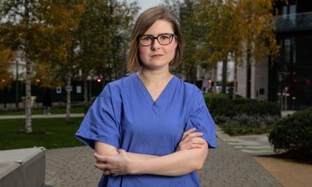 Natalie Silvey, anaesthetic registrar.