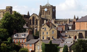 Hexham and its Abbey.