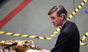 The Commons leader, Jacob Rees-Mogg