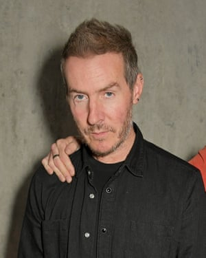 Massive Attack's Robert Del Naja.