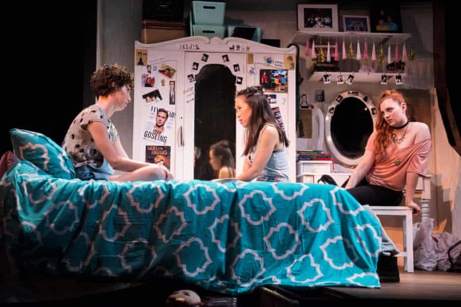 Emily Burton, Courtney Stewart and Emily Vascotto in Single Asian Female