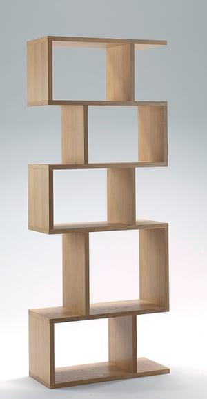 Balance alcove shelving, a typical Conran design.
