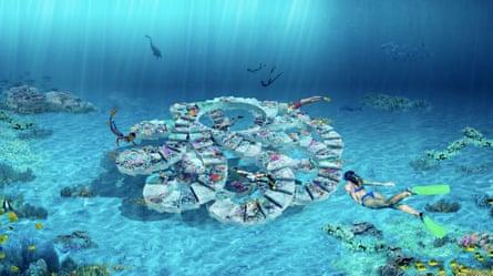 A rendering of the ReefLine
