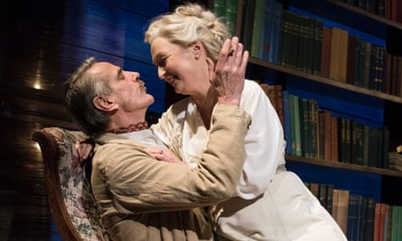 Jeremy Irons and Lesley Manville in Long Day's Journey into Night.