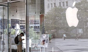 An Apple Store in Chicago