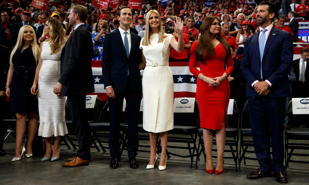 Family Values Why Trump S Children Are Key To His Re Election Campaign Us News The Guardian