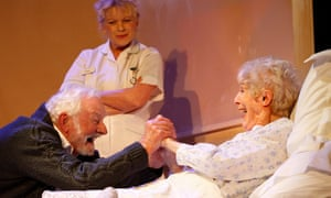 Faultless performances … Patrick Godfrey and Helen Ryan in Half Life.