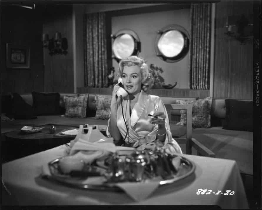Marilyn Monroe stars in the 1953 comedy Gentlemen Prefer Blondes.