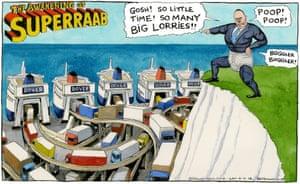 Steve Bell 09.11.18 cartoon